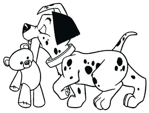 Dogs coloring pages 47