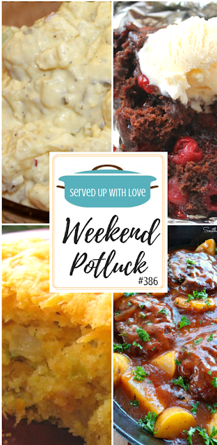 WeekeClassic Potato Salad, Foil Packet Chocolate Cherry Cake, Cheesy Zucchini Cornbread Casserole, Salisbury Steak & Potato Skille