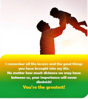 gambarf selamat hari ayah menyentuh hati