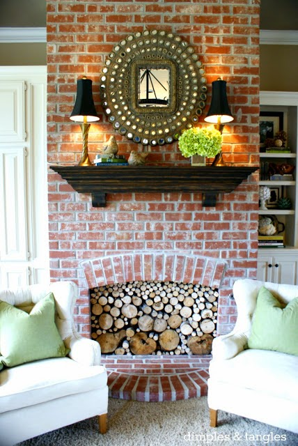 How To Use Lamps On A Mantle When You Don T Have An Outlet How To