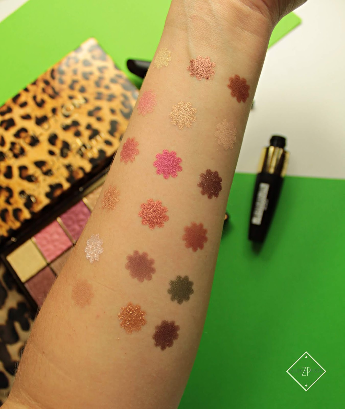 paleta cieni Makeup Revolution Wild Animal Courage