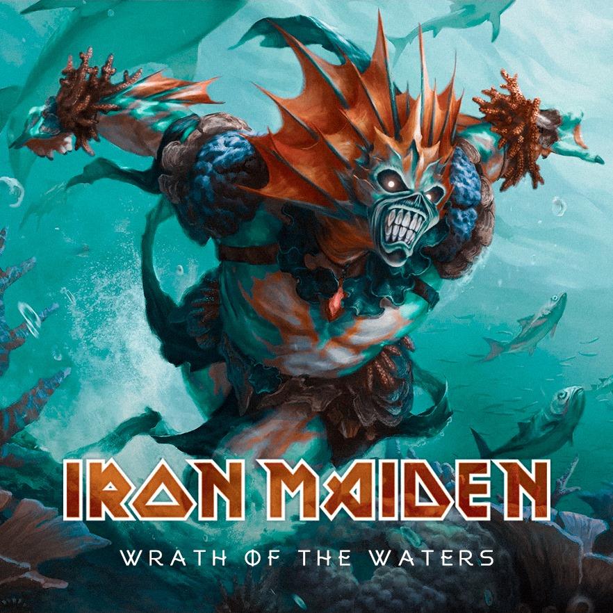 """Fake News: novo álbum do Iron Maiden não se chama """"Wrath of the Waters"""""""
