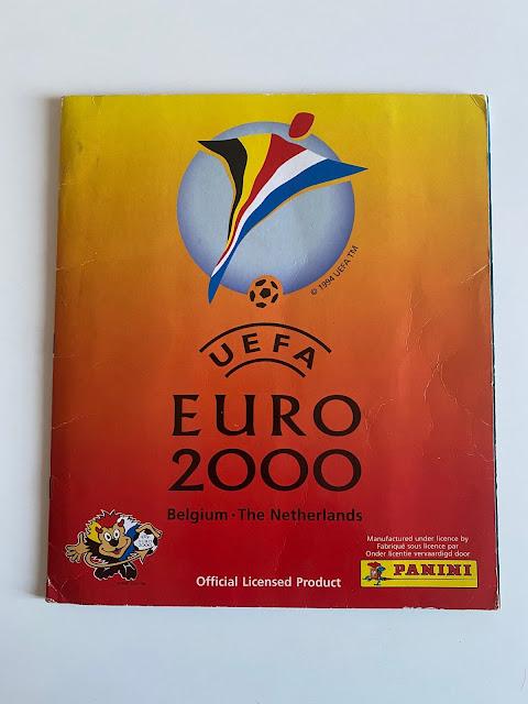 Copertina Album Euro 2000 Panini