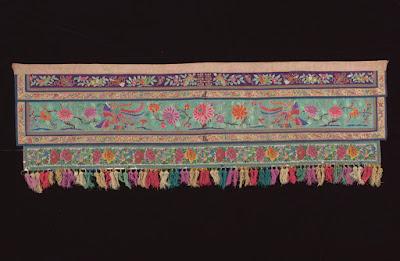 Source Peranakan Museum website: Example of nyonya needlework.