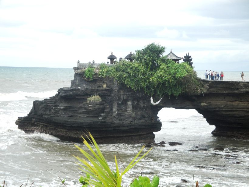 Tanah Lot Hindu Bali Sea Temple with sunset view Tourist Places - Bali, Beraban, Village, Sea Temple, Sunset, Hindu, Shrines, Tanah Lot, Kediri, Tabanan, Attractions
