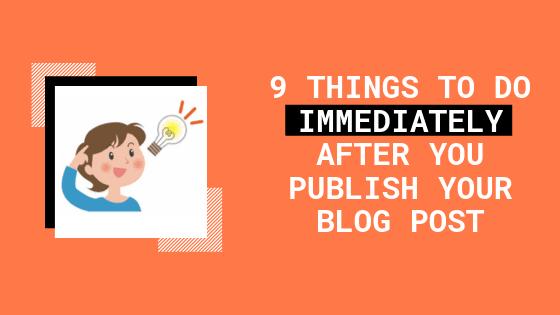 blogging, after-publish-blog-post,
