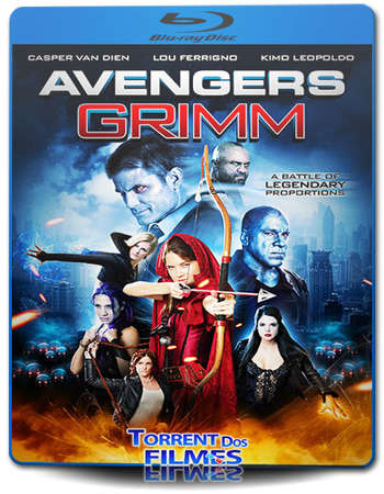 Poster Of Avengers Grimm 2015 Dual Audio 720p BRRip [Hindi - English] Free Download Watch Online