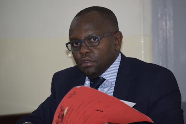 Makadara chief magistrate Hestone Nyaga at a Makadara law court photo