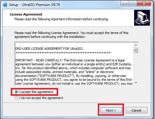 Hướng dẫn cài đặt UltraISO Premium 9.7.6 mới nhất a