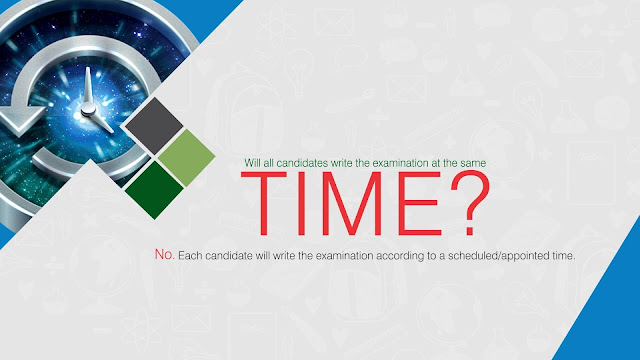 Will all candidates write the UTME examination at the same TIME?