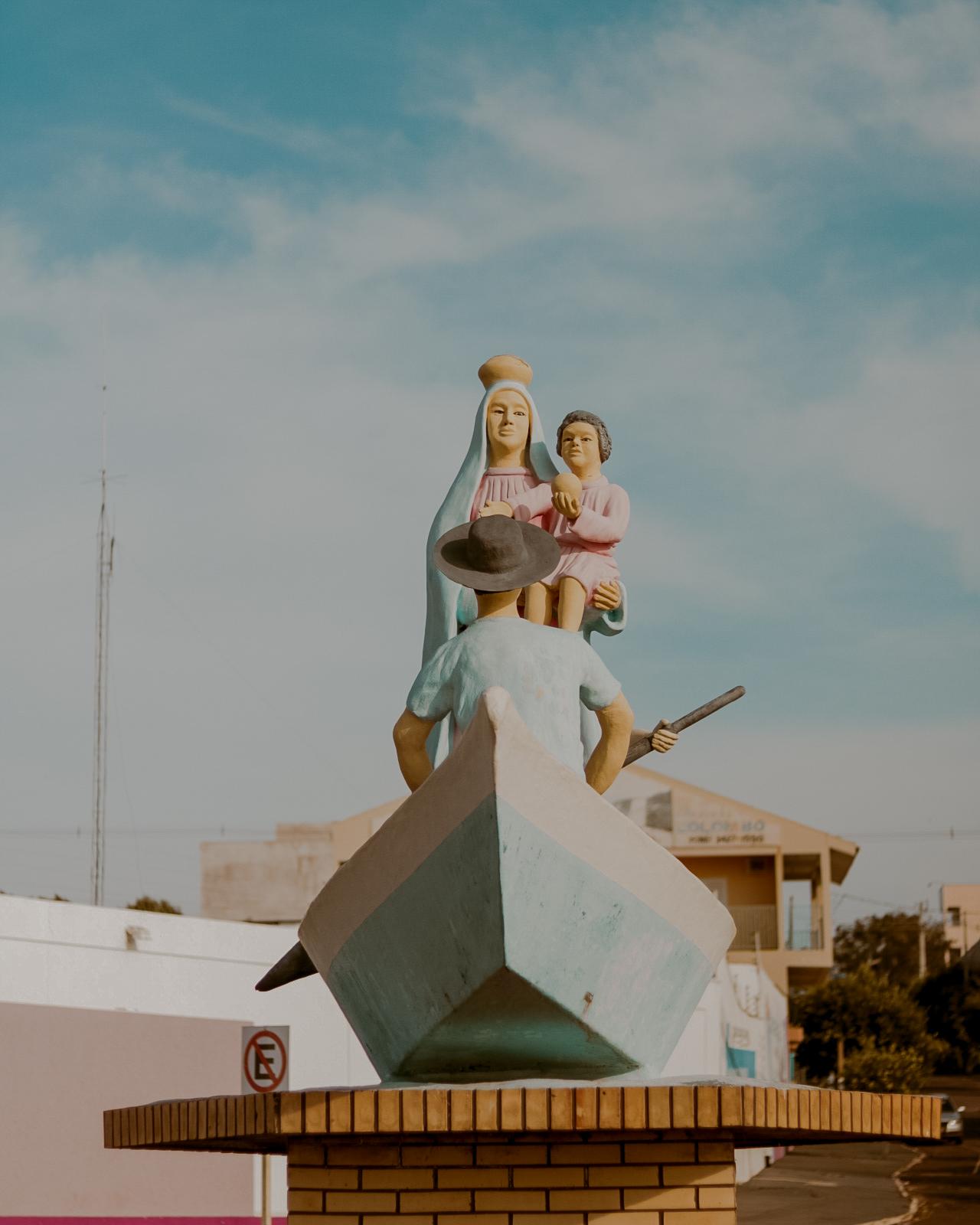estátua padroeira navegantes