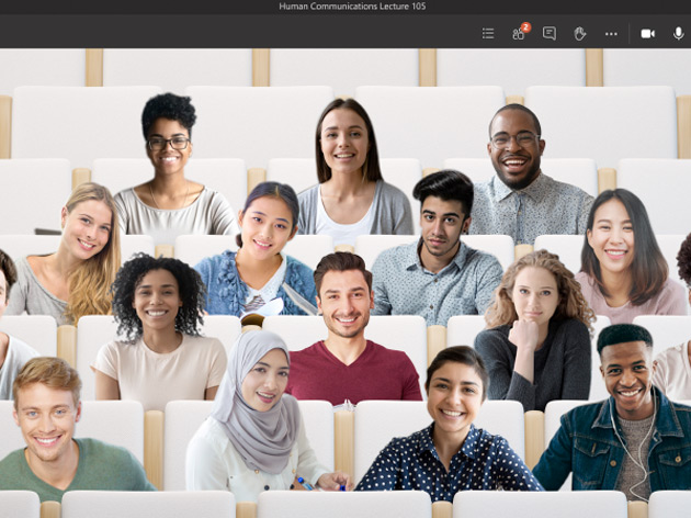 Microsoft Team تصدر خاصية Together mode والتي تسمح بإضافة شخصين فقط إلي الأجتماع