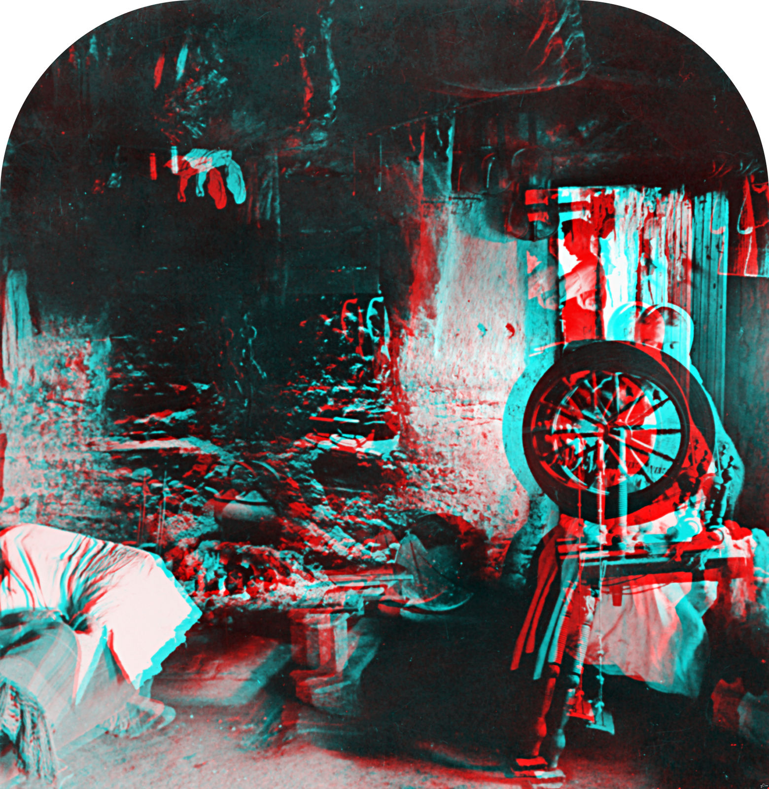 Stoic Decay: 3D Library of Congress: Five