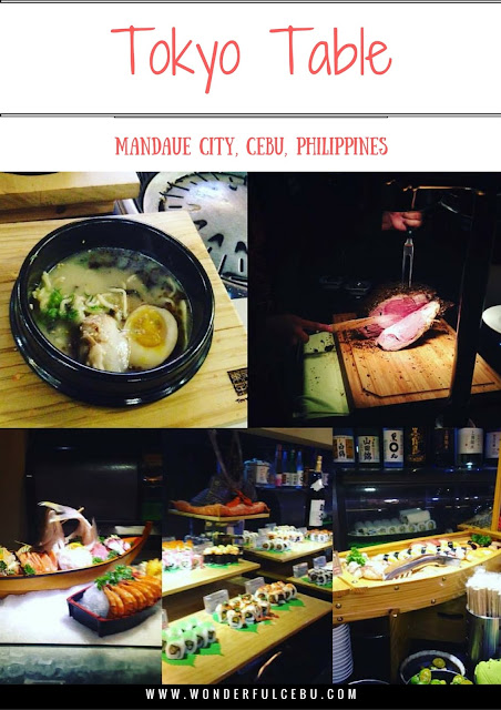 Tokyo Table Restaurant Eat all you can in Cebu