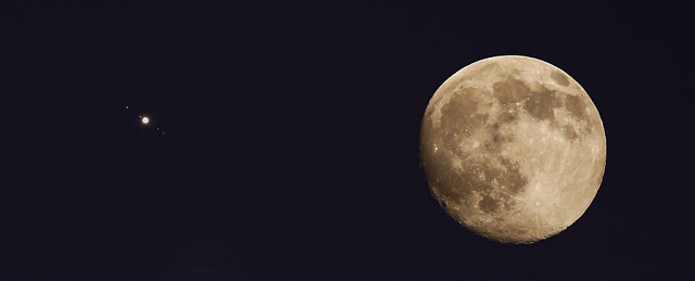 Breaking News Look Up! A Lunar Eclipse is Coinciding With a Super-Bright Jupiter Tomorrow