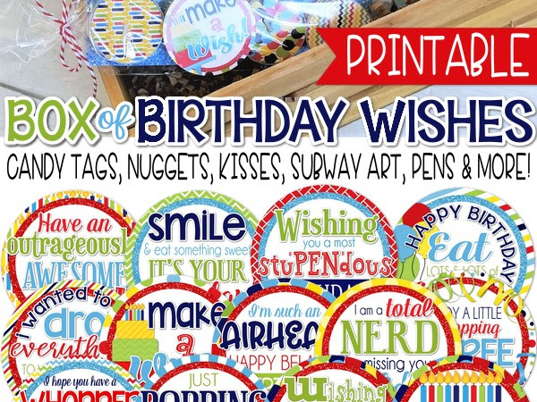 NEW Box of Birthday Wishes!