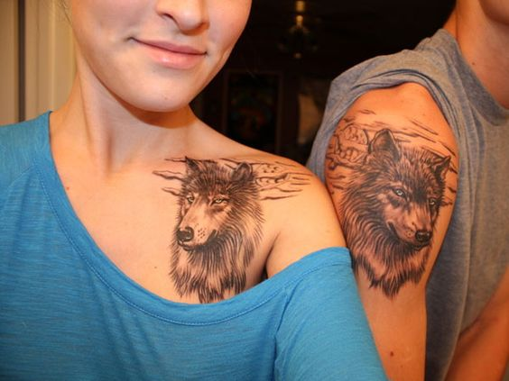 couple-tattoos-11 15 Sweetest Couple Tattoos Designs tattoo