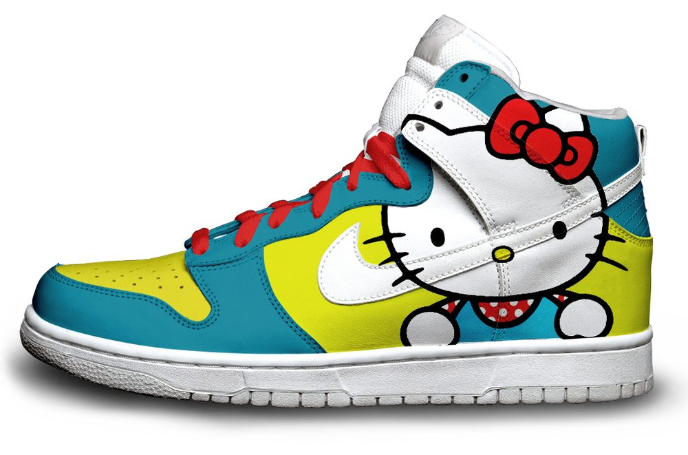 Nike Hello Kitty Nikes Dunk Shoes For Girls | Colorful Nikes