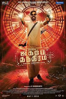 Jagame Thandhiram First Look Poster 3