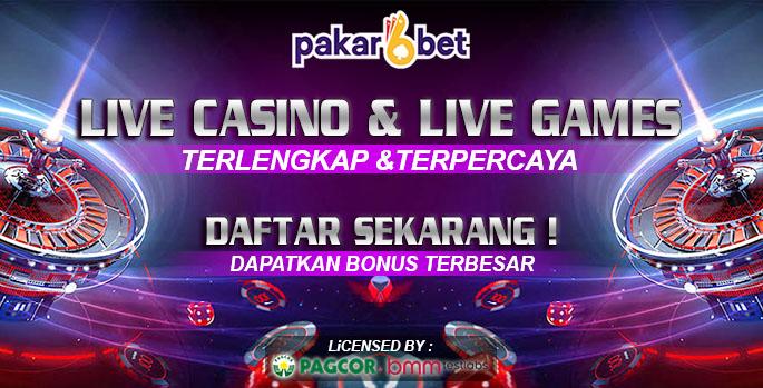 PAKARBET | LIVE CASINO DAN LIVE GAMES TERPERCAYA