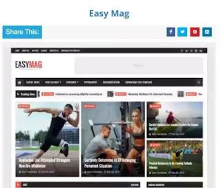 EasyMag Blogger Template