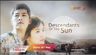 'Descendants of the Sun' Korean Tv Serial Re-telecast on Zindagi Tv