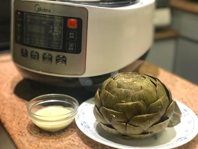 【Recipe】蒸雅枝竹(朝鮮薊)*美的 5公升智能高速煲