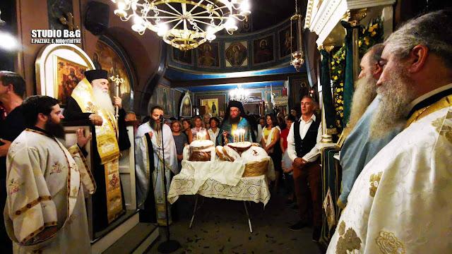 Αρχιερατικός εσπερινός στο ιστορικό εκκλησάκι της Αγίας Σοφίας στο Ναύπλιο (βίντεο)