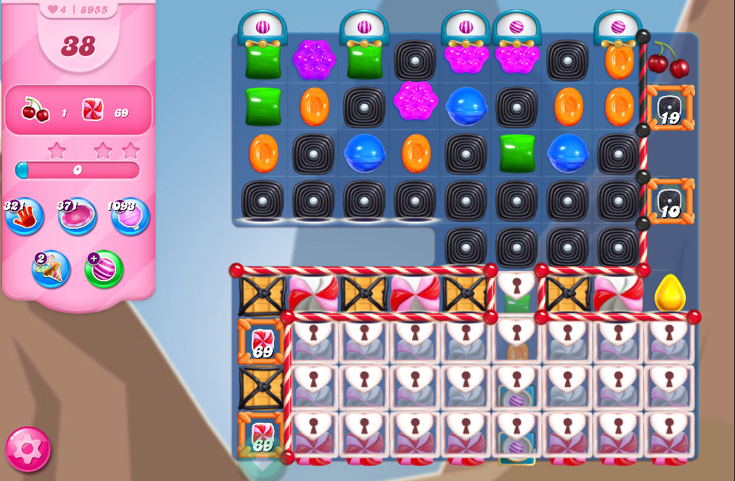 Candy Crush Saga level 8955