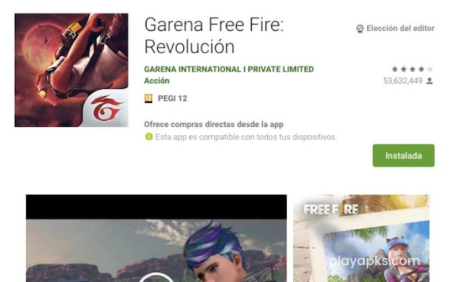 Descargar Garena Free Fire: Revolución apk en android