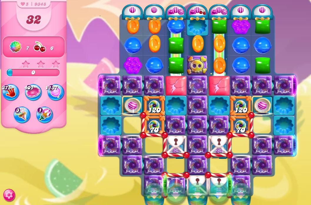 Candy Crush Saga level 9348
