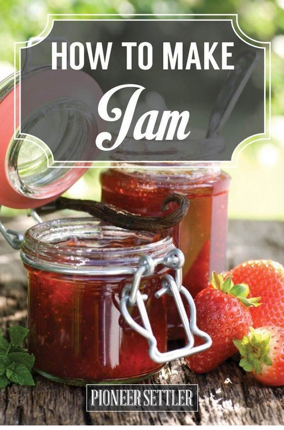 How to Make Jam At Home