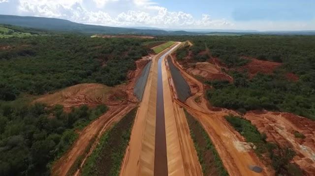 Cinturão das Águas: Ceará recebe mais R$ 54,5 milhões em recursos federais