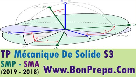 TP Mécanique De Solide S3  SMP - SMA PDF