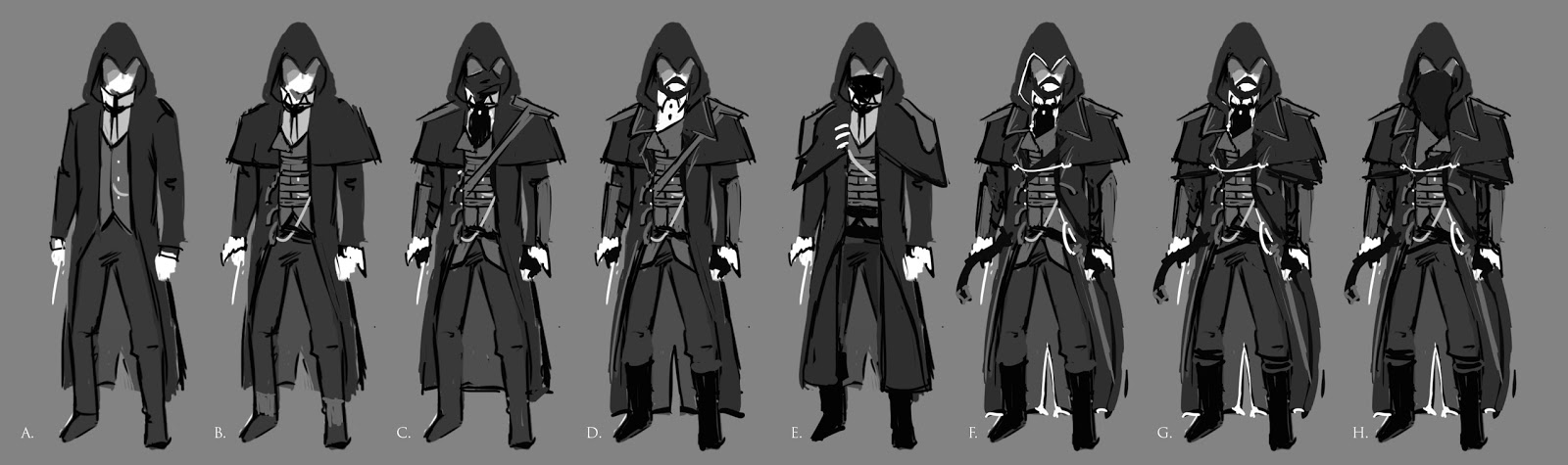 David Paget Ma Concept Art Jack Couvela Brief Assassin S Creed