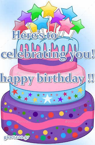 Best Happy Birthday Wishes Here's to celebrating you!