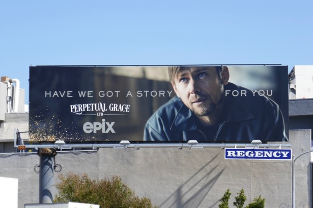 Perpetual Grace Ltd series premiere billboard