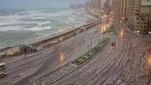 الأرصاد تحذر المواطنين بشده وتؤكد طقس شديد البرودة وأمطار غزيرة ورعدية على المحافظات التالية غدا