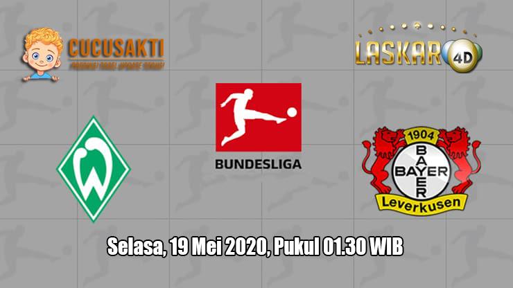 Prediksi Wender Bremen VS Bayer Leverkusen 19 Mei 2020