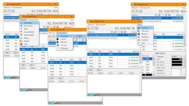 Noso Wallet Version 0.2.0K