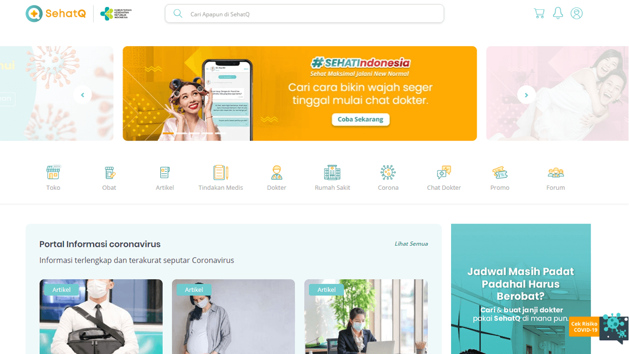 SehatQ.com, Portal Informasi Kesehatan Terlengkap dan Terpercaya di Indonesia