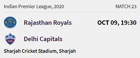 delhi capitals match 6 ipl 2020