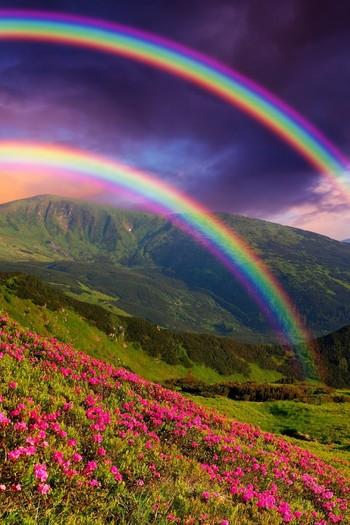 地球の美しさと出会える絶景?美しい虹の種類と画像14枚 二重の虹