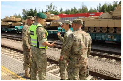 The defense minister says US troops will stay in Lithuania for a long time