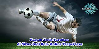 Ragam Jenis Taruhan di Situs Judi Bola Online Terpercaya