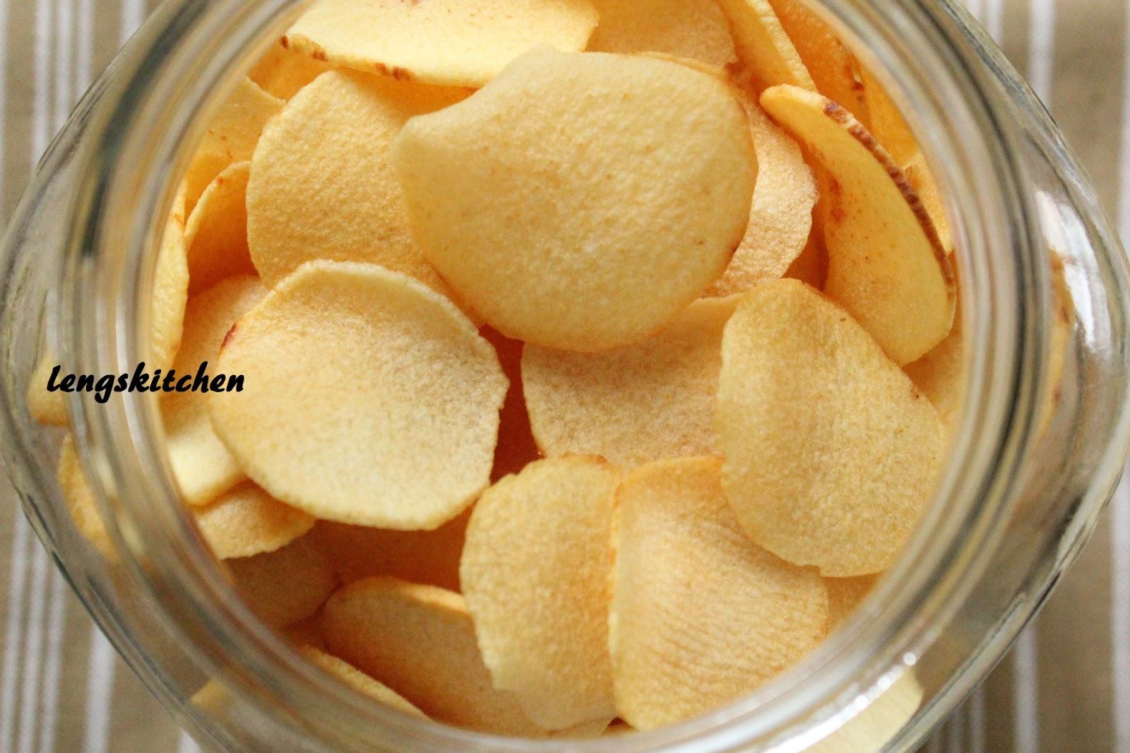 Kitchen Trim Modern Knobs Chaos: Ngaku (arrowhead) Chips 炸芽菇饼 - Chinese New ...