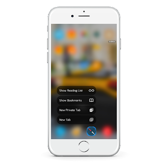 """NougatShortcuts"" a new tweak has been launched in cydia which lets you theme your 3D Touch Menus in a different style. This is the first time that you can now theme your 3D touch menus too."