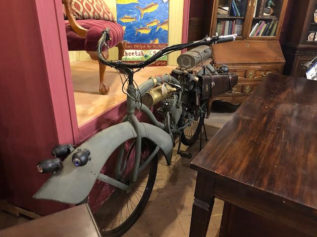 strange old bicycle