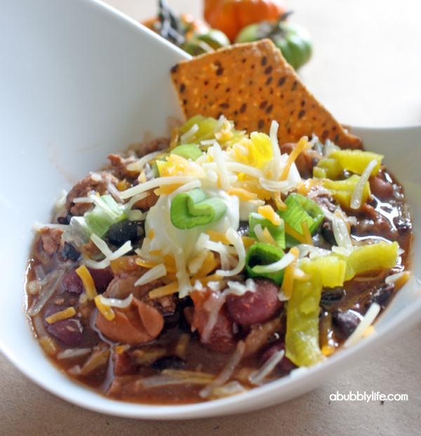 A Bubbly Life: Fall Means Chili Bar!