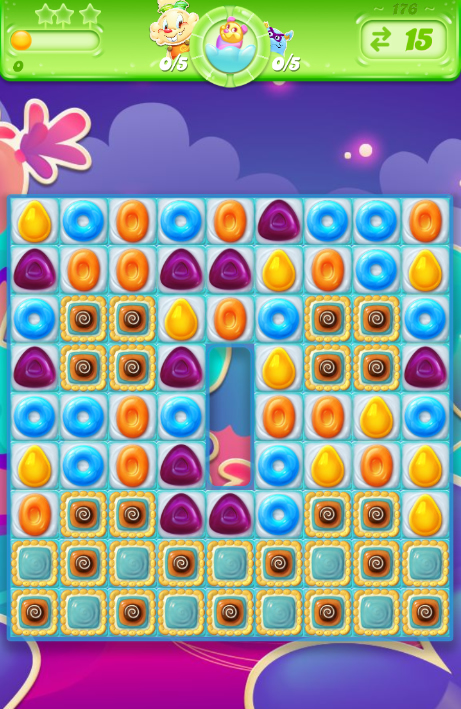 Candy Crush Jelly Saga 176